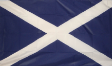 SCOTLAND ST ANDREW - 8 X 5 FLAG